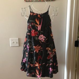 Vans floral tank dress